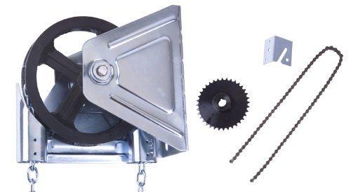Garage Door Chain Hoist Model 2000R 4:1 Reduction Wall Mount (1 Inch Shaft)