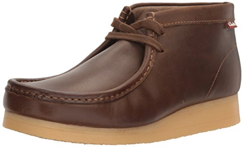 Clarks Men's Stinson Hi Chukka Boot,Beeswax Leather Casual 7 M US