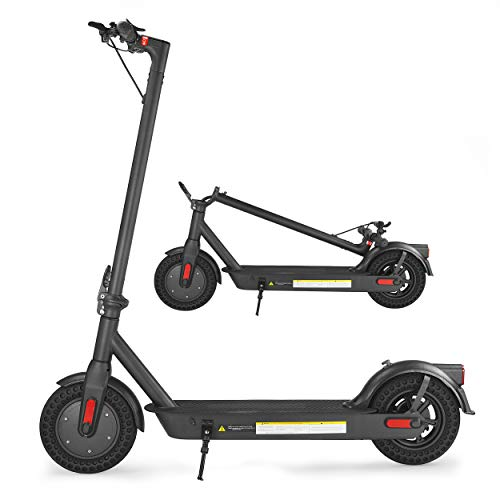 XPRIT 10'' Electric Scooter Pro Edition, 10Ah Long-Range Battery, 350W Motor, LED Dashboard
