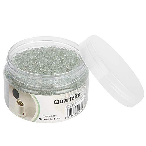 500g boules de verre clair pour perles de sable de silice de boîte de stérilisateur d'ongle à haute température, accessoires d'art d'ongle