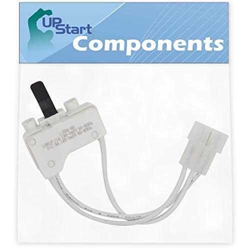 3406107 Dryer Door Switch Replacement for Estate TEDS840JQ2 Dryer  Compatible with WP3406107 3406109 Door Switch  UpStart Components Brand