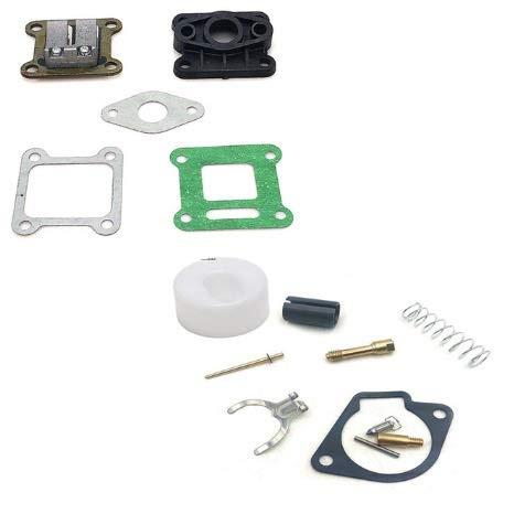 BGTR Accesorios de Moto Kit de reparación de carburador Universal Fits Compatible for 2 Tiempos 43cc 47cc 49cc Mini Moto Bike Bike Motorcycle System Parts