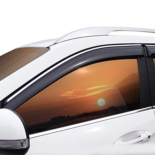 Xtrdye Auto Windabweiser Kompatibel mit Hyundai IX35 2010-2017, Acrylglastür Seitenfenster Sonnenblende Regen- und Schneeschutzscheibe (4er-Set)