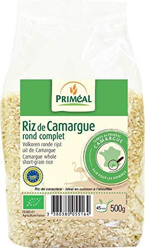 Priméal Riz de Camargue Rond Complet 500 g