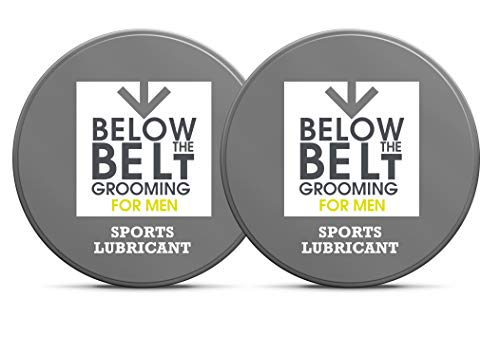 Below The Belt Grooming Sports Lubricant - Anti Chafing Chamois Cream 2 x 50ml