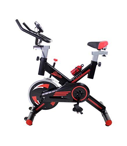 Riscko Bicicleta Spinning con Volante De Inercia 24 Kg Indoor | Loira Negro