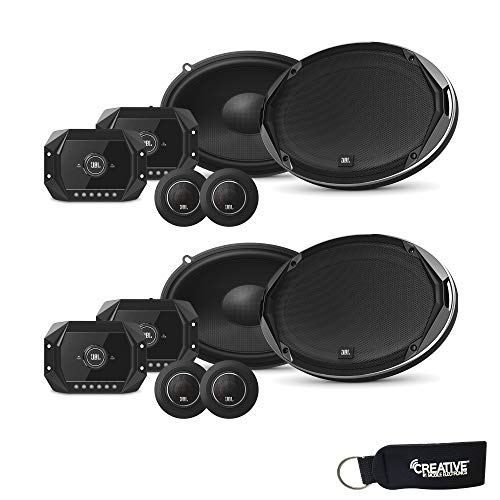JBL STADIUMGTO960C Stadium Series 6x9 Inch Step-up Car Audio Component Speaker Systems - Two Pairs