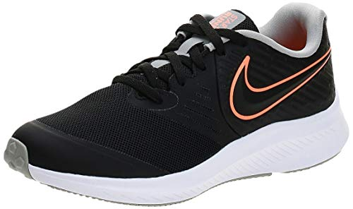 Nike AQ3542-008-5.5Y Laufschuh, Negro Total Orange Blanco Lt Smoke Grey, 38 EU