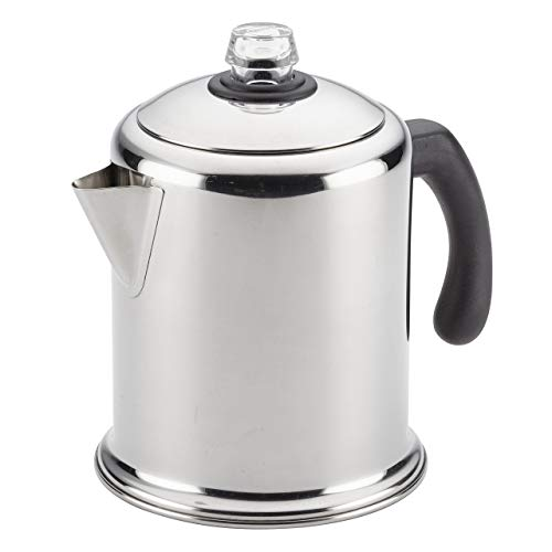 Farberware Classic Stainless Steel Yosemite 8-Cup Coffee Percolator...