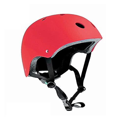 LYTBJ Casco de Bicicleta Casco de Bicicleta Cascos de Skate Casco Ajustable Se USA para Proteger la Cabeza Adecuado para Andar en patineta al Aire Libre y Escalada en Roca