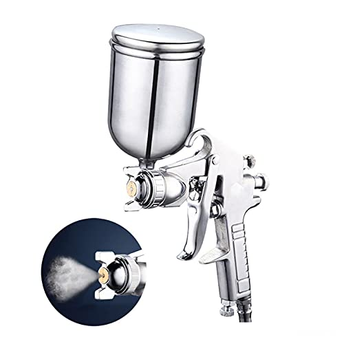 pistola de pintura en aerosol 400 ml pistola de pulverización profesional pulverizador de aleación pulverizador de aleación de aleación herramienta atomizador con tolva para pintar coches pistola de p