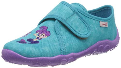 superfit Bonny, Zapatillas de Estar por casa para Niñas, Turquesa (Grün 70), 31 EU