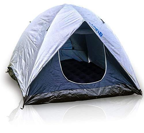 Barraca 4 Pessoas Luna Com Cobertura Mor Iglu Facil de Montar Camping