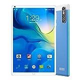 LINGOSHUN Tableta,Batería de 3000 MAh,1 GB de RAM Y Almacenamiento de 16 ROM,8.0 Pulgadas,DiseñAda para Entretenimiento PortáTil,Pantalla IPS HD de 1280x800 / azul / 2MP Rear Camera