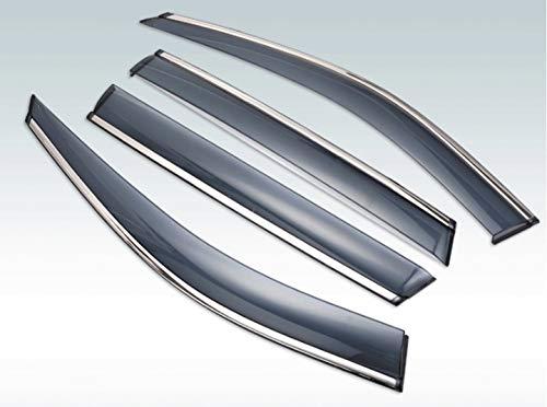 MYlnb para Kia Sportage 2010 2011 2012 2013 2014 2015, Visera Exterior de plástico, persianas de ventilación, Deflector de protección contra la Lluvia y el Sol, 4 uds.