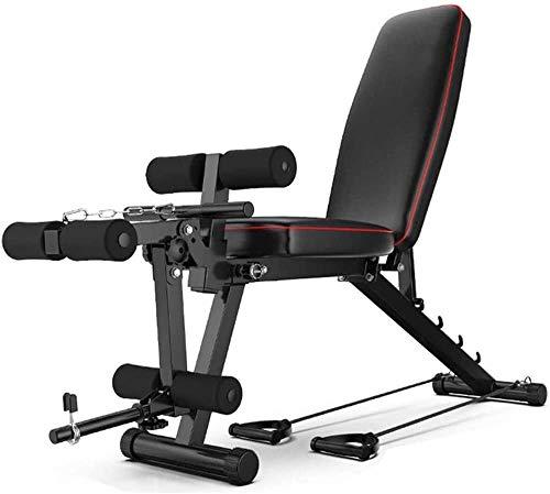 Multifunzione Panca Fitness Panchina Peso con Leg Extension e Leg Curl per Uomini E Donne, Portata...