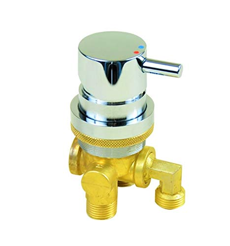 3-Way Faucet for Pedicure Spa chair Bowls. Shampoo Cold and Hot Soldering Cheap sale