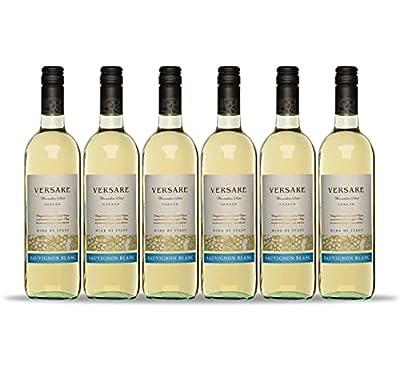Versare Sauvignon Blanc Wine, 75 cl, Case of 6