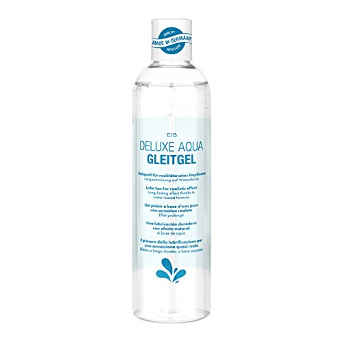 Deluxe Gleitgel künstliches Sperma von EIS, wasserbasierte Langzeitwirkung, 300 ml