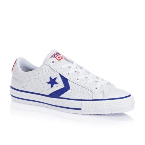 dc434a3fb3a3 Converse Star Player Ox Shoes White  Blue - MarielaTomblin32455