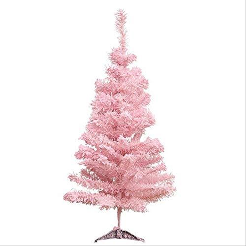 WARRT Arbol de Navidad Rosa Árbol De Navidad Artificial Árbol De Navidad Navidad Fiesta Holiday Home Decoración Decoración Decoración De La Oficina China 60CM