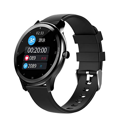 N\C Smart Fitness reloj pulsera 1.28 pulgadas alta definición pantalla grande fondo personalizado IP68 deportes impermeable reloj electrónico Bluetooth