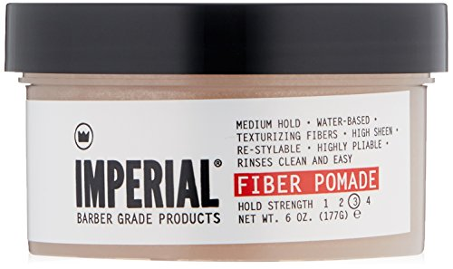 Imperial Barber Fiber Pomade, 6 oz
