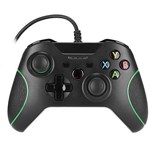 Gamepad con Cable, Game Controller, con indicador LED, Compatible con Windows 7...