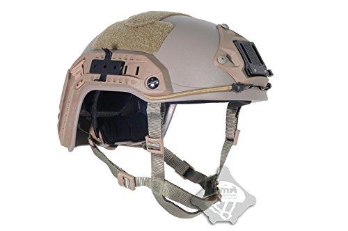FMA Maritime Tactical Schutz ABS-Kunststoff Helm De Tan für Airsoft Paintball, DE