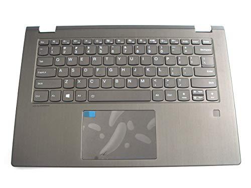 Piezas originales para Lenovo ideapad Yoga 530-14IKB 530-14ARR 14 pulgadas Palmrest con teclado retroiluminado y huella digital 5CB0R47325
