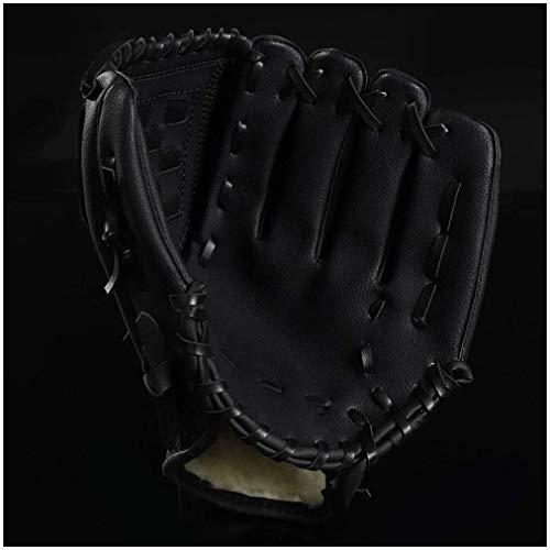 NMDD Baseball Handschuhe Verdickung Kinder Erwachsene Hit Fang Ball Pitcher Baseball Softball Handschuhe Arbeitshandschuhe (Farbe: 10.5in / pink + Ball)