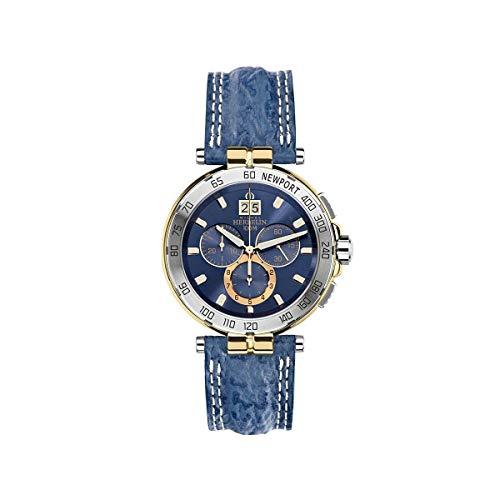 Herren Uhr Michel Herbelin - 36656/T35 - Newport - Chronograph