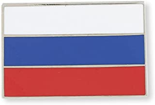 Russian Flag Russia Enamel Lapel Pin