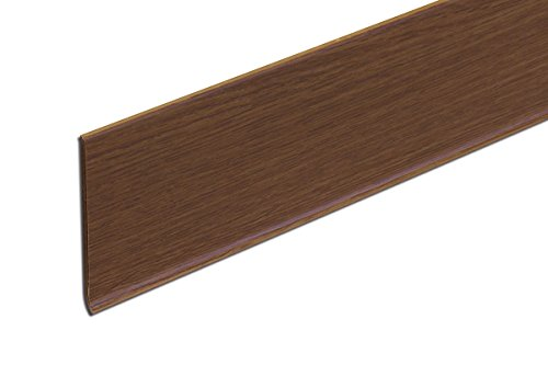 貼るだけ簡単巾木 厚3mm×高さ60mm×長さ909mm 色 カフェブラウン