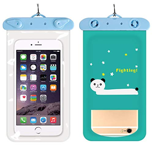 Fineday Summer Waterproof Pouch Swimming Beach Dry Bag Case Cover Holder for Cell Phone, Swimming HotSales (A)