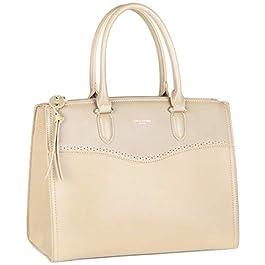 David Jones – Grand Sac à Main Femme – Cabas Fourre-Tout Cuir PU Porté Epaule Bandoulière – Tote Shopper Satchel Bag…