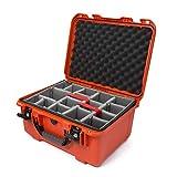 Nanuk 933 - Carcasa rígida Impermeable con separadores Acolchados, Color Naranja