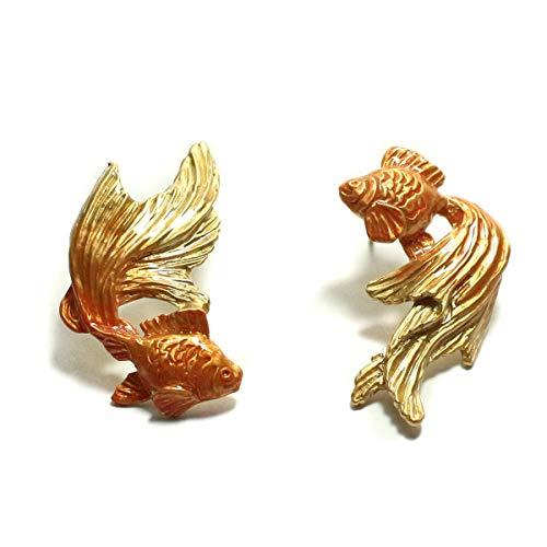 金魚 レディース PalnartPoc パルナートポック 公式 ブラフシューペリア プレゼント 金魚ピアスGD
