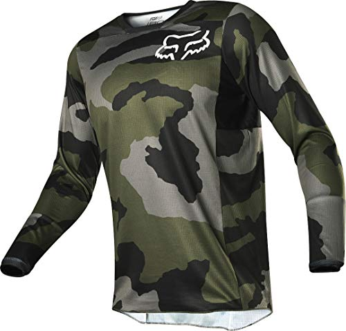 Fox Racing 180 Przm Camo SE Men's Off-Road Motorcycle Jersey - Camo/Large