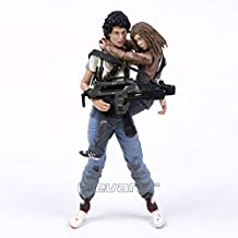 Ellen Ripley & Newt 30th Anniversary This time It's war PVC Action Figure Collectible Model Toy 2-Pack 7