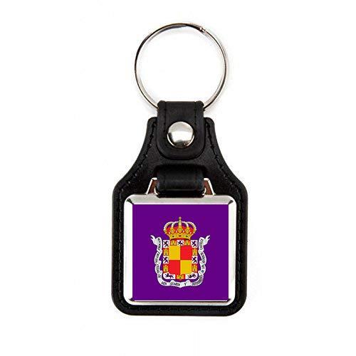 G1 Schlüsselanhänger Fahne Jaos! Schlüsselanhänger, viereckig, aus Kunstleder gefertigt; robuster Schlüsselanhänger. Elegantes Design (1 Stück)