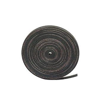 FYSETC GT2 Timing Belt 5 Meters/ 16.4 Ft Length Open Belt 2mm Pitch 6mm Width Rubber Fiberglass Reinforced for RepRap Prusa i3 3D Printer CNC