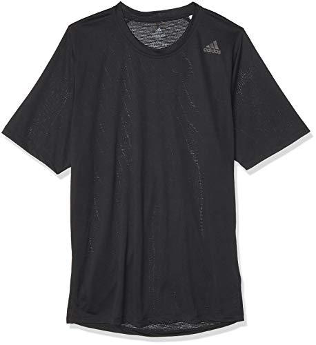 adidas FL_Tec Z Ft Cco Camiseta de Manga Corta, Hombre, Black/Black, S