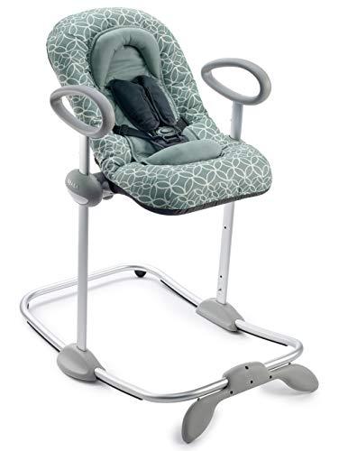 Béaba - Up & Down III - Babywippe - Wippe für Babys und Kleinkinder - Höhenverstellbar - Schaukelfunktion und 4-fache Höhenverstellung - Ergonomisch und sicher - Verlässt
