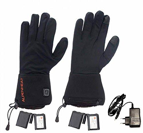Alpenheat Herren-Handschuhe, feuerbeheizt, Größe XS, Schwarz