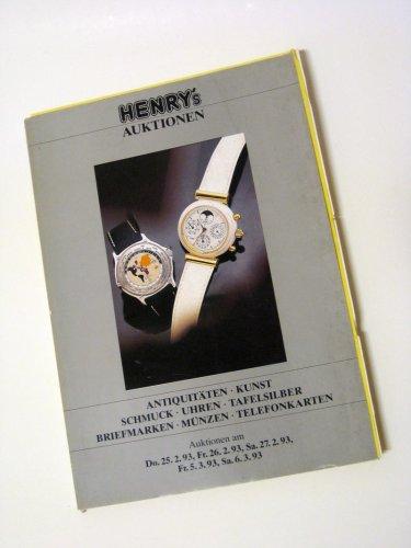 Henrys Auktionskatalog Februar 1993