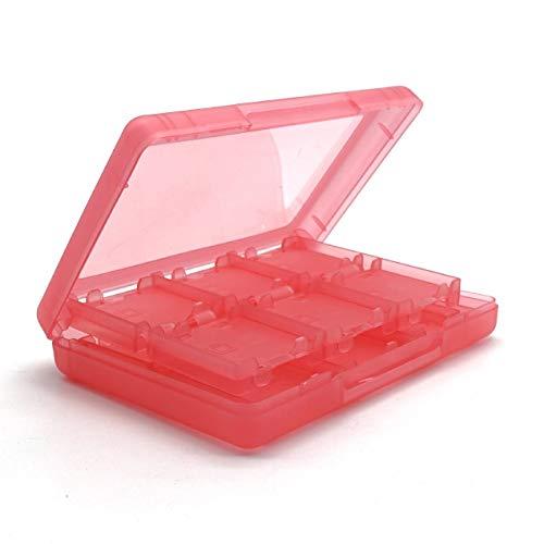 DBSUFV Caja de Cartucho de Soporte de Caja de Tarjeta de Juego 28 en -1 para Nintend 3ds y Caja de plástico XL Caja de Tarjeta de Juego 28 en -1 para Nintend