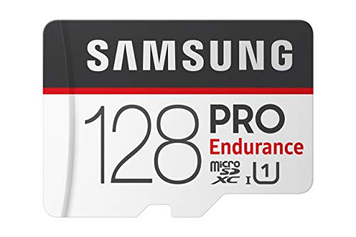 Samsung PRO Endurance 128GB 100MB/s (U1) MicroSDXC Memory Card with Adapter (MB-MJ128GA/AM)