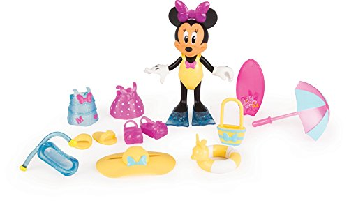 Minnie Mouse 182189MI4 Micky Maus und Freunde Beach Beautiful Fashion Puppe