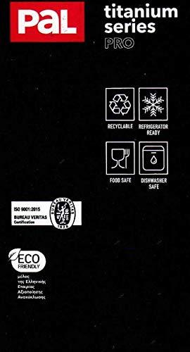PAL Titanium PRO MOKKAKANNE - 3 lagiger Boden -Edelstahl - cezve (380 ml) - 6